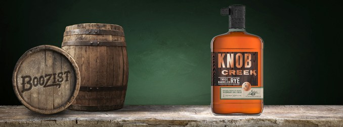 Knob Creek Twice Barreled Rye Boozist