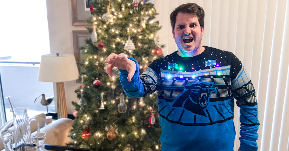 Play Music From This New Ugly Bluetooth Sweater