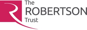 The logo for The Robertson Trust.