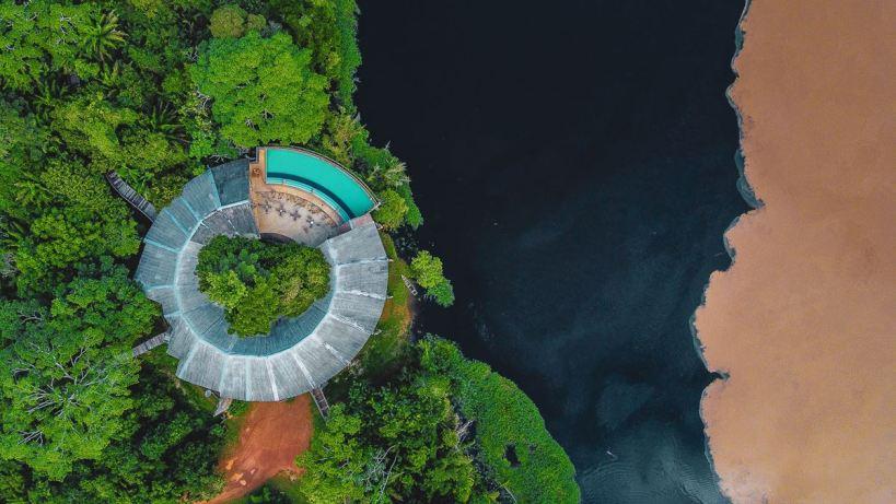 Pakaas, um hotel na selva Rondoniense