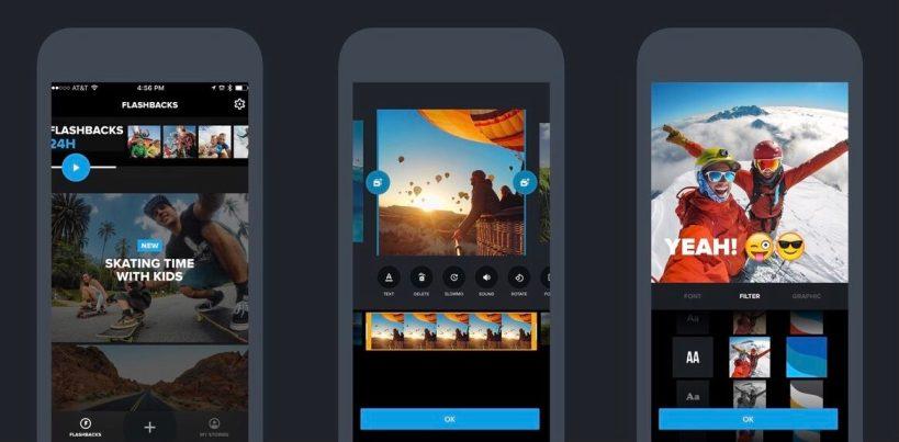 O 'Quik', novo aplicativo da GoPro vem repleto de novidades para você tirar o máximo de suas fotos e vídeos produzidos em qualquer câmera ou celular