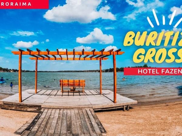 Buritizal Grosso em 4k | Hotel Fazenda