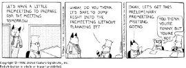 Meeting, meeting, meeting!