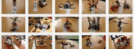 Trecento rivelatori di LEGO