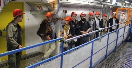 Fumettisti al CERN