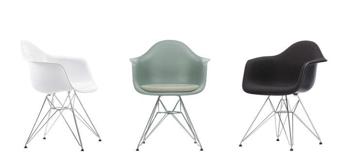 Eames Plastic Armchair DAR 8