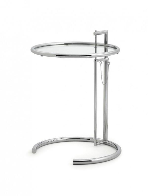 Adjustable Table E 1027, Eileen Gray 1927 1
