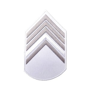 Divisa 2º Sargento, Branca com Cinza