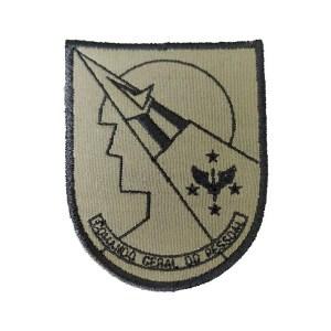 Comando Geral do Pessoal verde, DOM Bordado