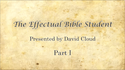 The Effectual Bible Student