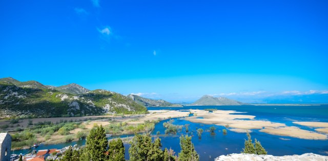 View over Skadar Lake