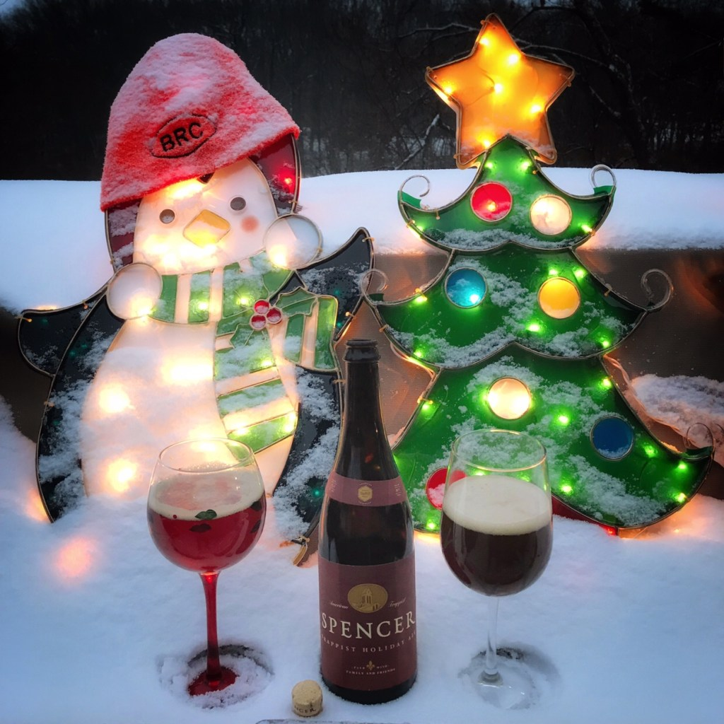 The BRC 12 Beers of Christmas 2017 Beer 9: Spencer Trappist Holiday Ale