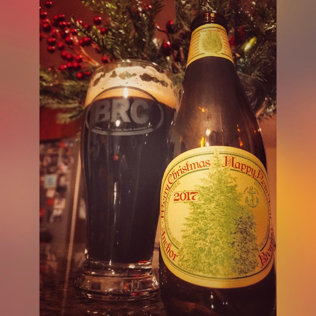 The BRC 12 Beers of Christmas 2017 Beer 7: Anchor Brewing Merry Christmas & Happy New Year (Our Special Ale) (2017)