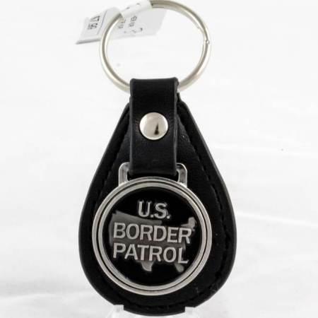 USBP LEATHER K/R - Key Chains