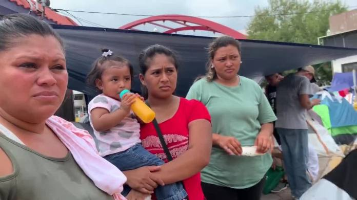 Report: Migrants at Matamoros tent camp could be rounded up, sent ...