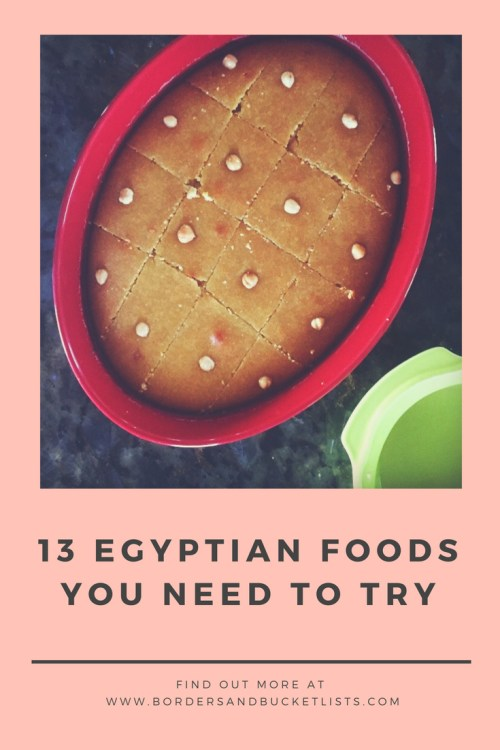 Egyptian foods you need to try pin