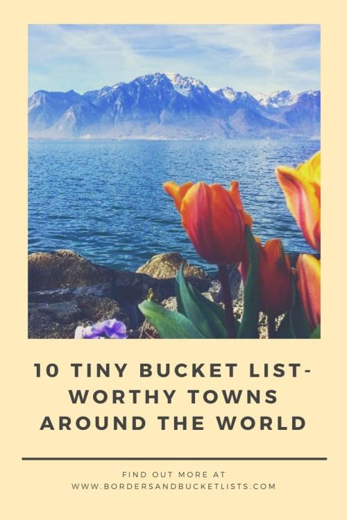 tiny bucket list-worthy towns around the world pin