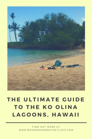 The Ultimate Guide to the Ko Olina Lagoons #hawaii #oahu #koolina #hawaiibeach