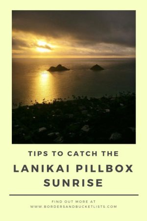 Lanikai Pillbox Hike Sunrise Pin #lanikai #lanikaipillbox #lanikaipillboxhike #hike #hawaii #oahu #oahuhike #sunrise #lanikaipillboxsunrise #hawaiisunrise