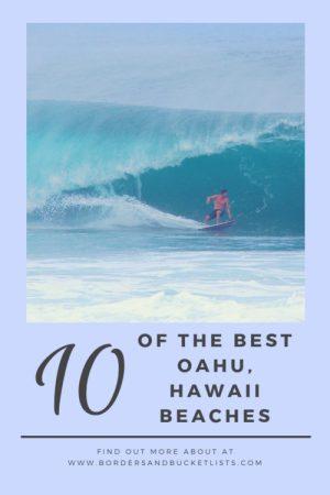10 Of The Best Oahu, Hawaii Beaches #hawaii #oahu #beach #hawaiibeach #oahubeach