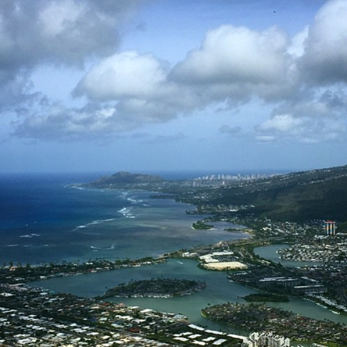 Koko Head Crater Trail View
