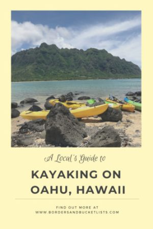 A Local's Guide to Kayaking On Oahu #oahu #hawaii #kayaking