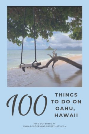 100 Things to do on Oahu, Hawaii #oahu #hawaii #bucketlist #travel