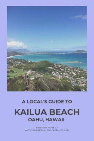 A Local's Guide to Kailua Beach, Oahu, Hawaii #oahu #hawaii #kailua #kailuabeach #beach