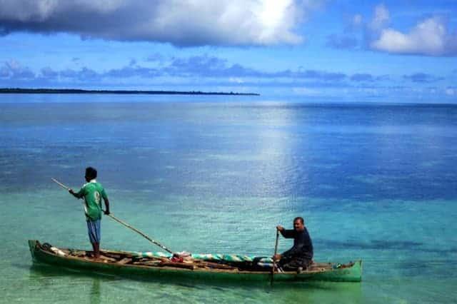 Sea in Hoga island