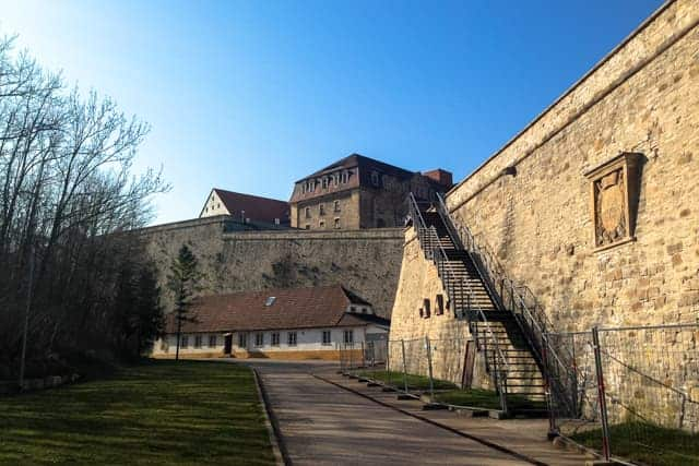 fortress Petersberg, Zitadelle Petersberg, Erfurt, Germany