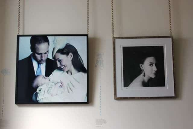 Prince William, Kate Middleton, Princess Margaret, Kensington Palace, London