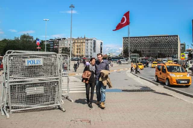 May Day, Istanbul, Taksim Square, Turkey