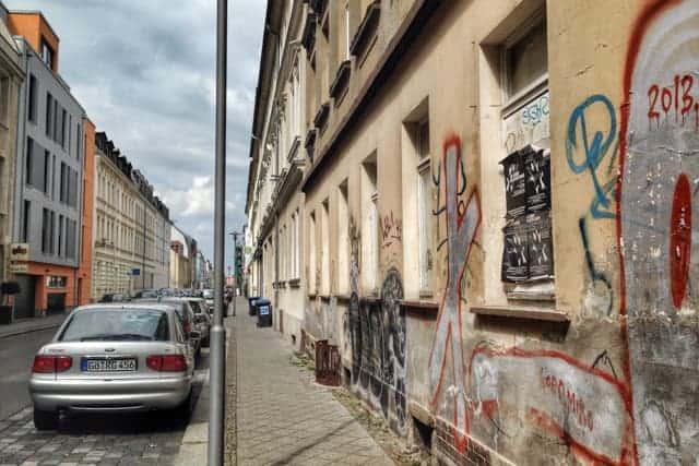 Karl-heine Straße, West Leipzig, Germany