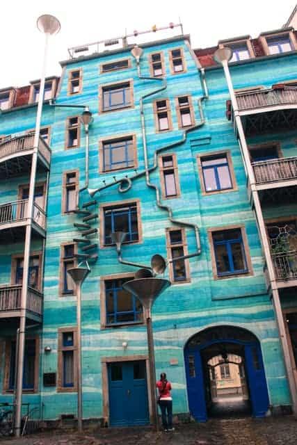Kunsthofpassage, Dresden New Town, Germany