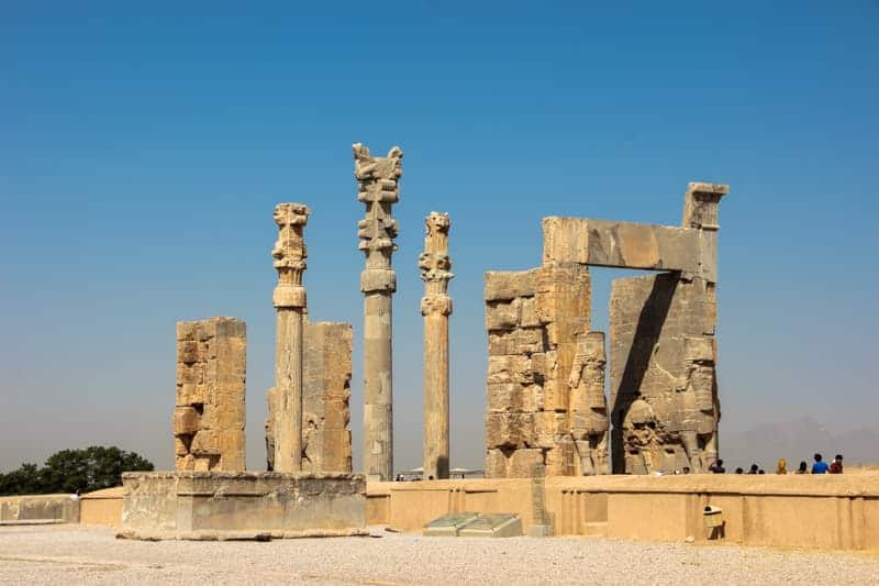Gate of All Nations, Persepolis, Shira, Iran