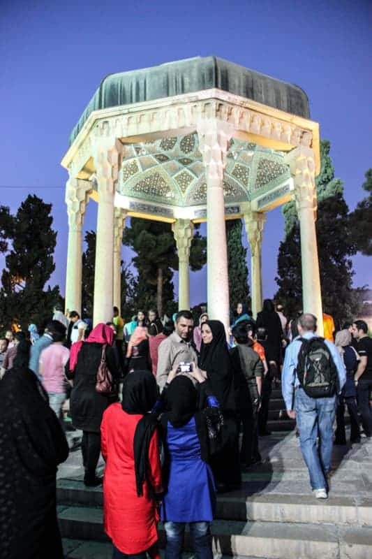 Tomb of Hafez, Shiraz, Iran