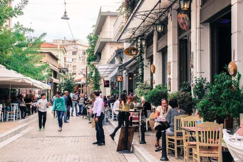 Psiri, Athens, Greece