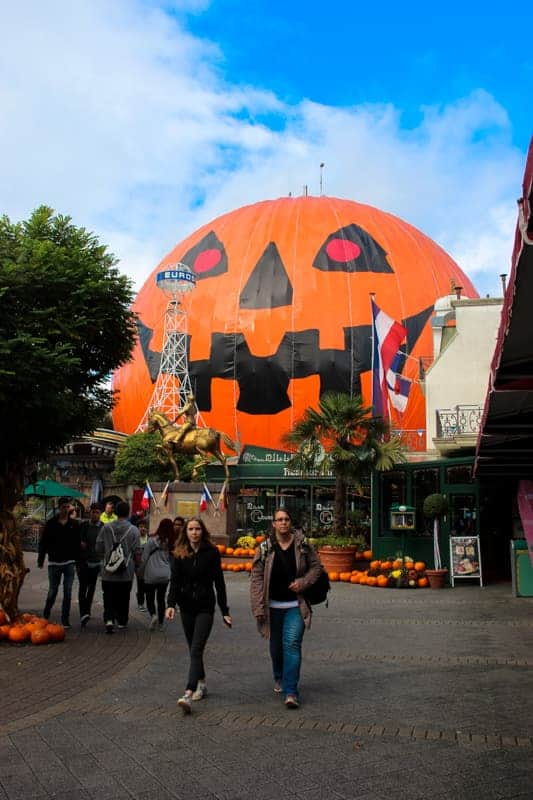 Europa Park for Halloween, Germany
