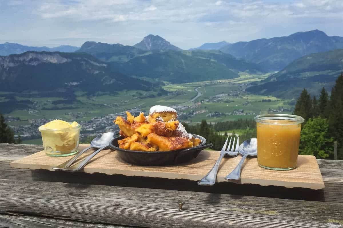 Traditional Austrian food