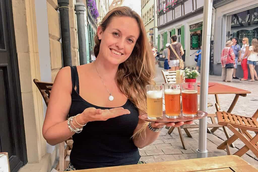 Beer tasting, Bamberg, Germany
