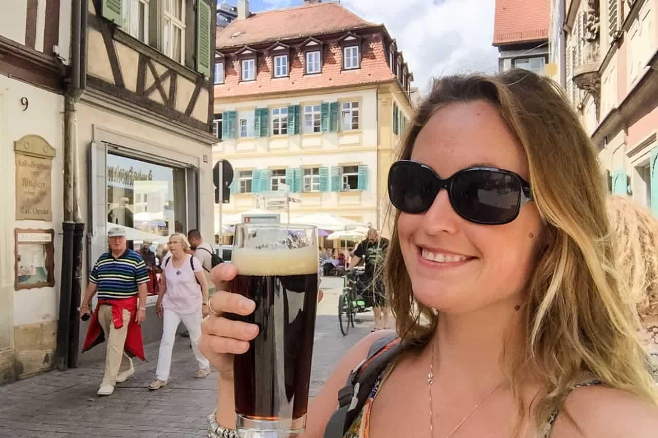 Beer tasting in Bamberg, Germant