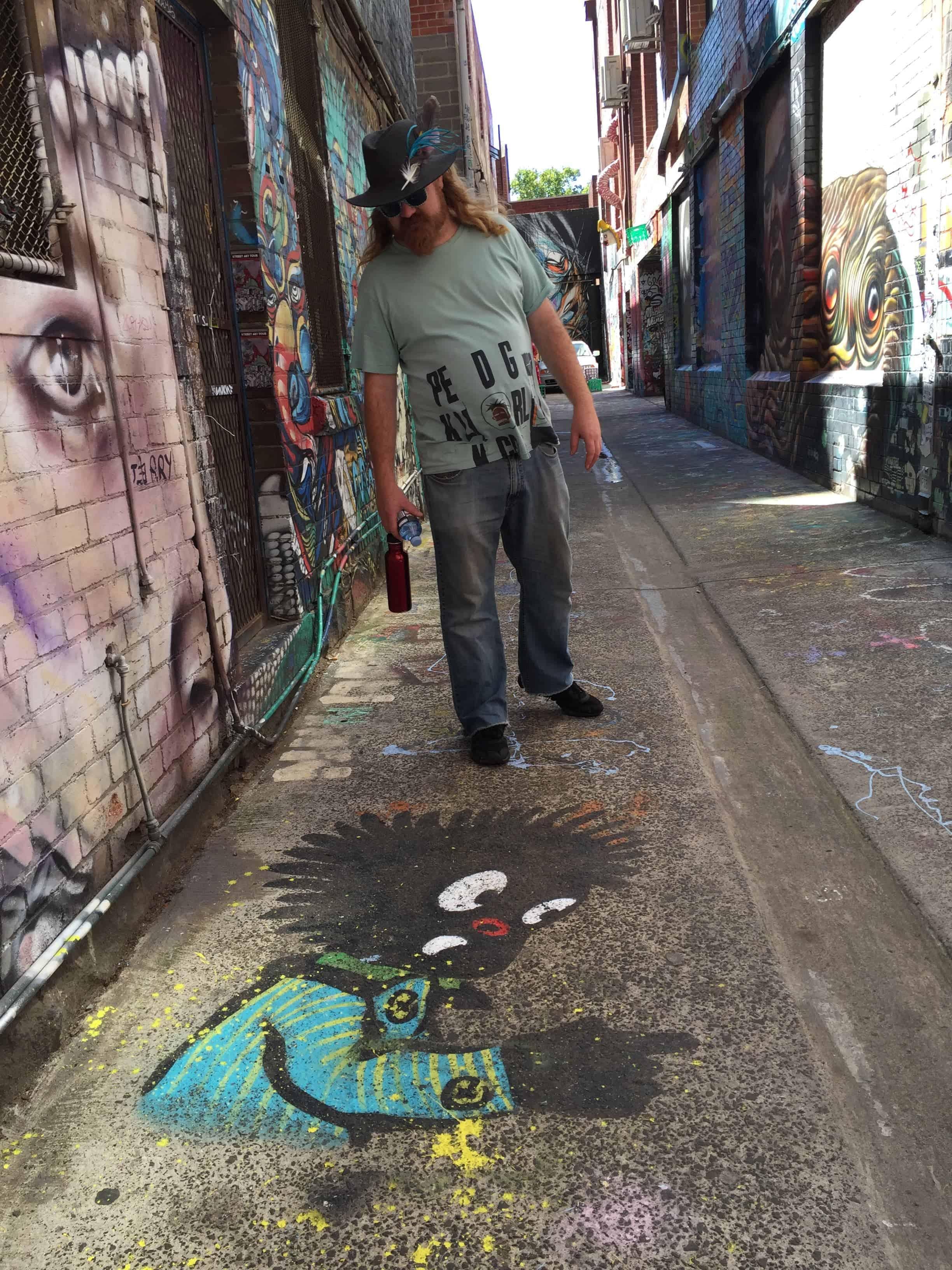 Melbourne Street Art Tours. Australia road trip