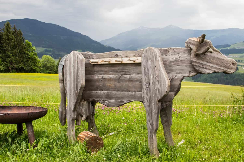 Tirol village, Austria spring summer