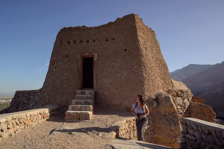 Dhayah Fort, Ras Al Khaimah, History of UAE