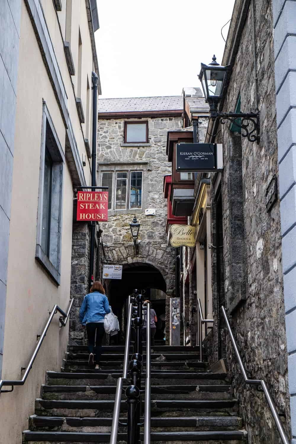 Butterslip Lane, Kilkenny, Ireland's Ancient East, Medieval Mile