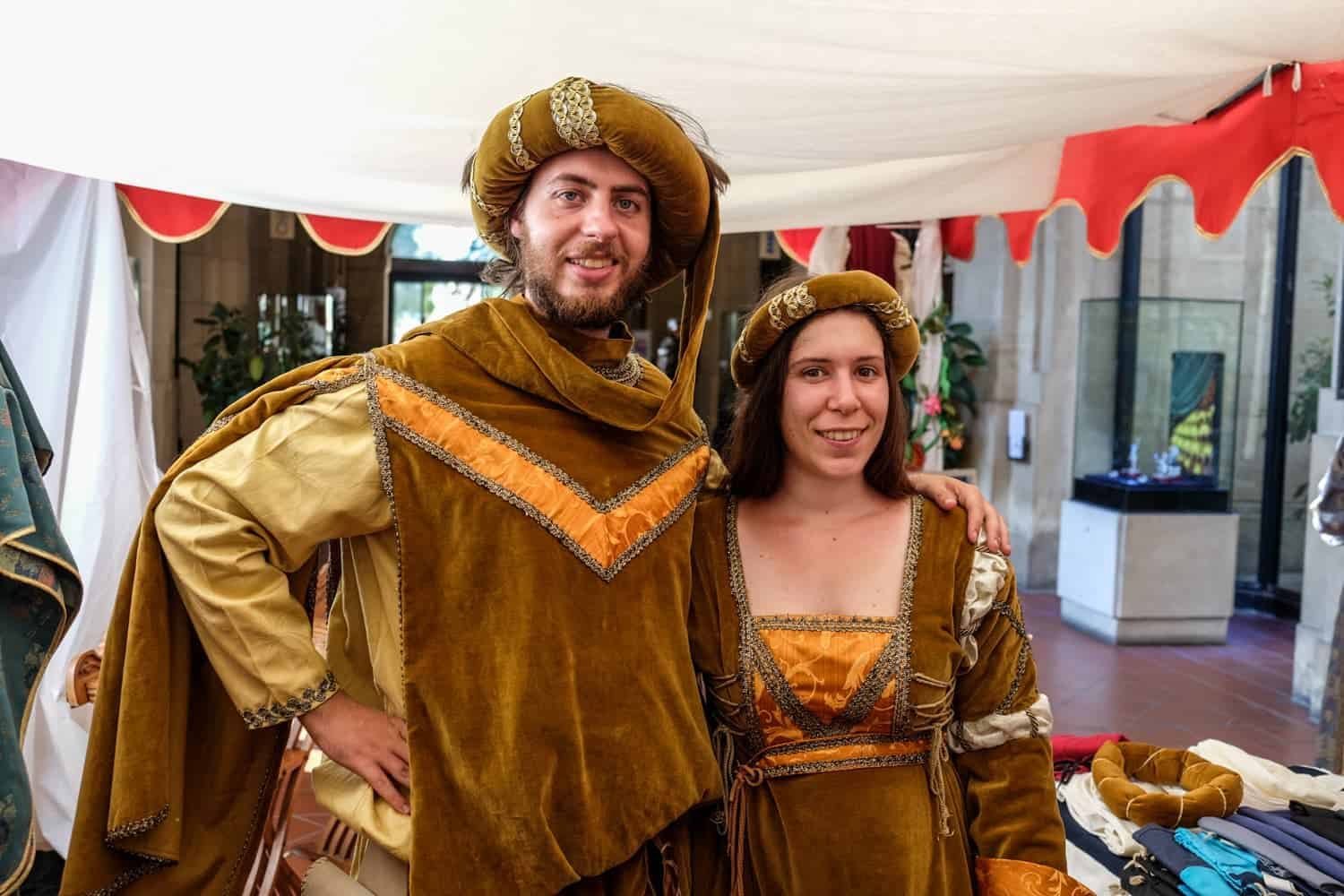Medieval Festival in San Marino, Medieval Days costume hire
