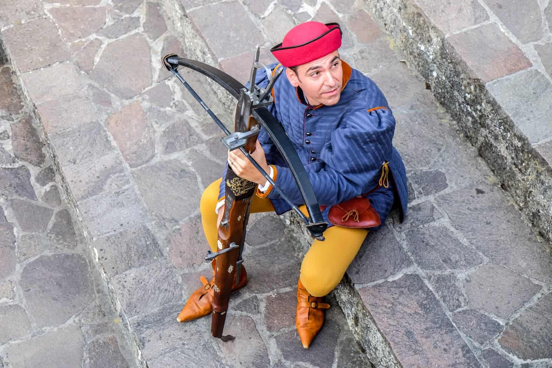 Medieval Festival in San Marino, Medieval Days Crossbowmen