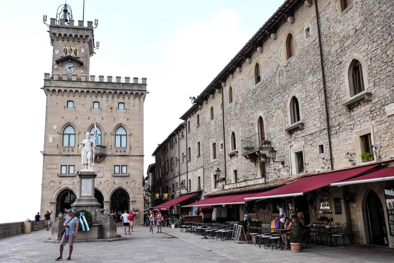 Palace, San Marino, Italy, Emilia Romagna