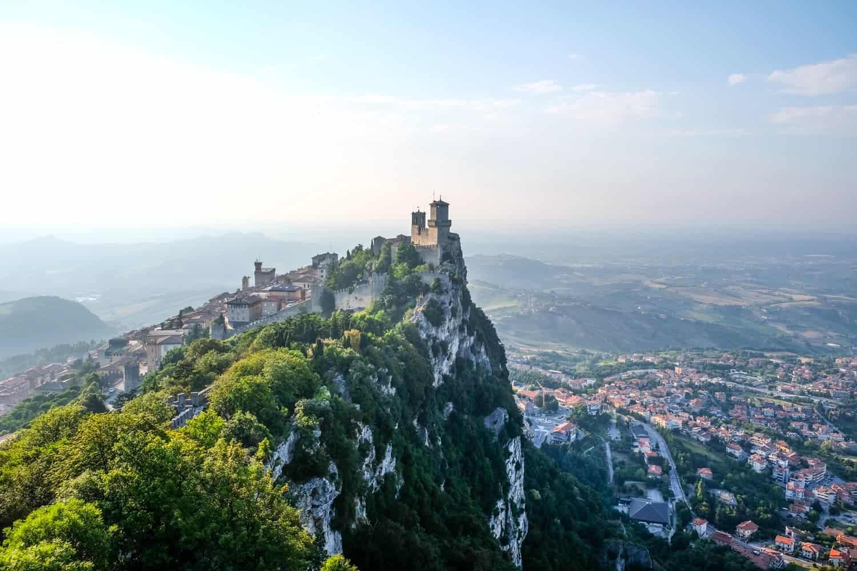 San Marino, Emila Romagna, Italy