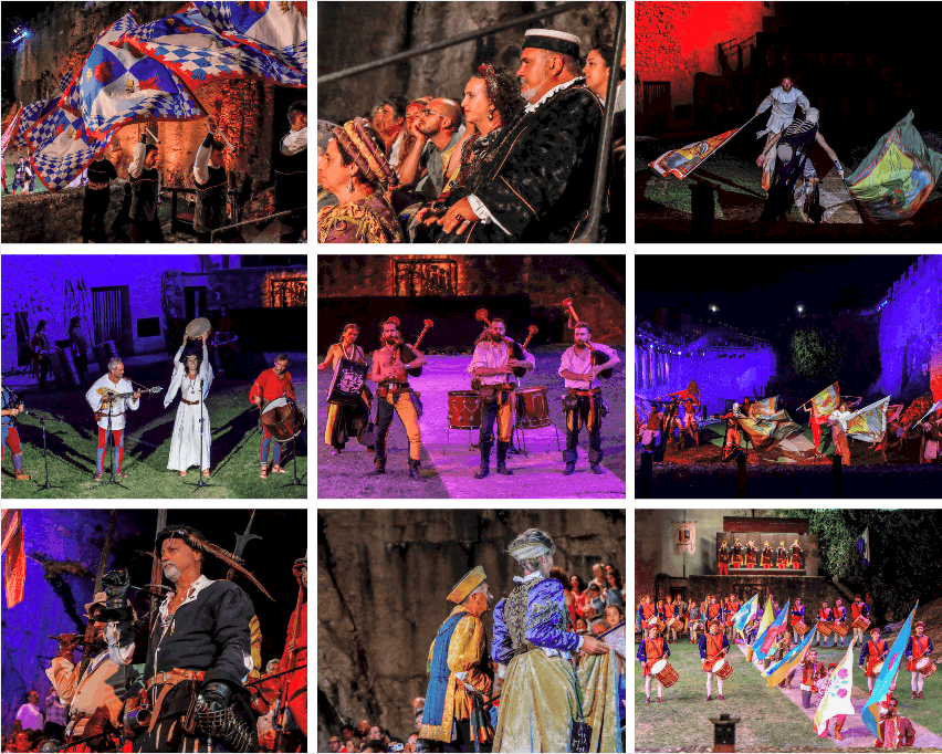 Medieval Festival in San Marino, Medieval Days evening shows